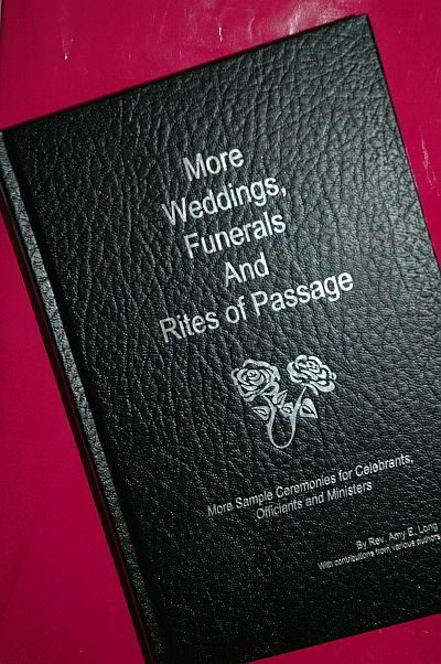 MORE Weddings, Funerals and Rites of Passage